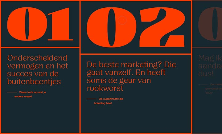 Gids in de branding website