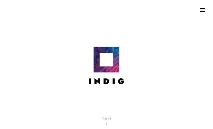 INDIG Inc. website