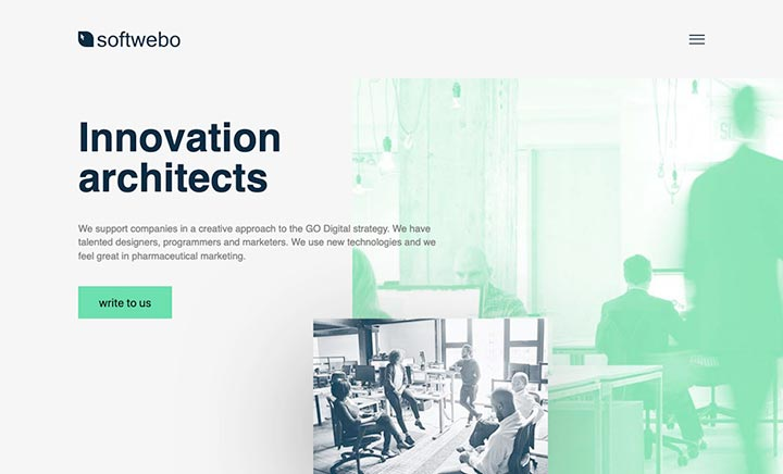 Softwebo | Design Agency website