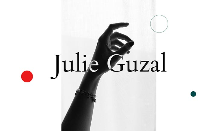 Julie Guzal - Portfolio website