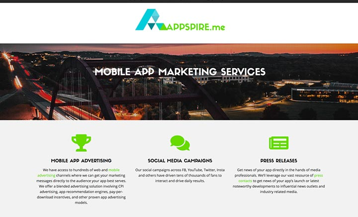 APPSPIRE.me website