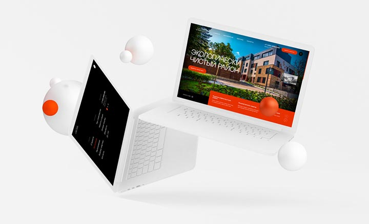 Snegiri Residence website