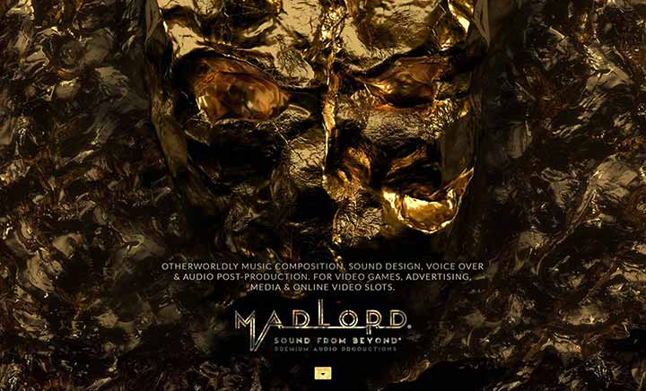 MADLORD - Sound from Beyond website