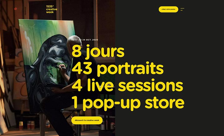 Creative Week website