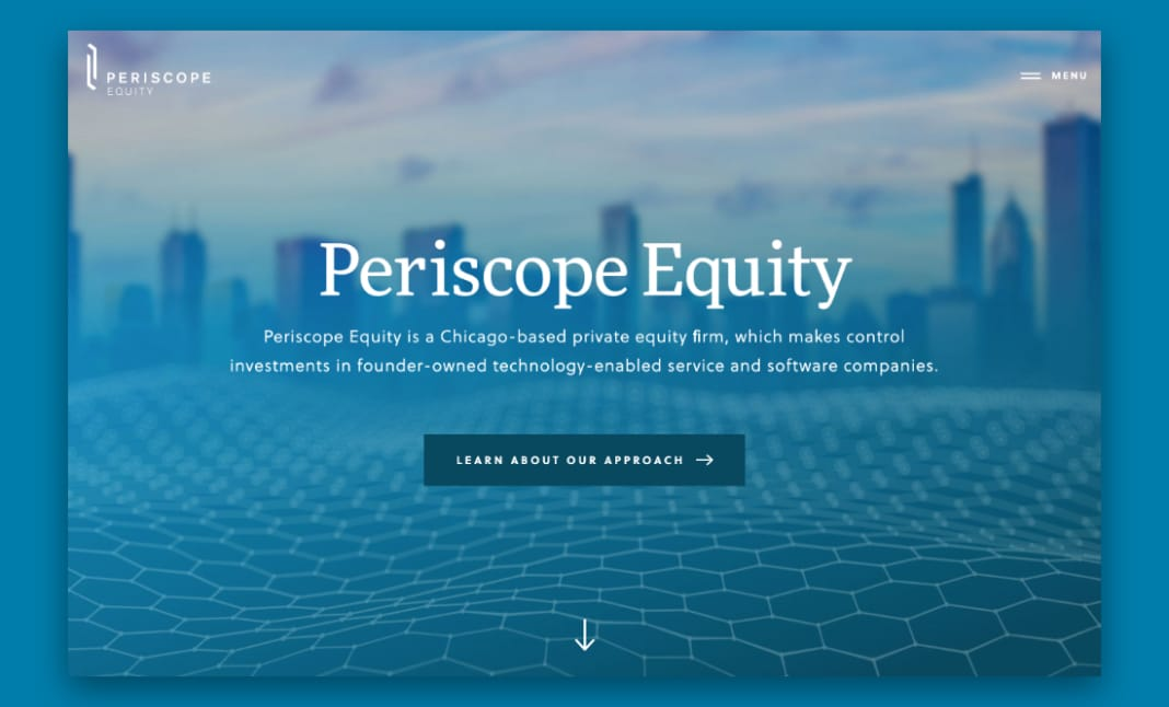 Periscope Equity website