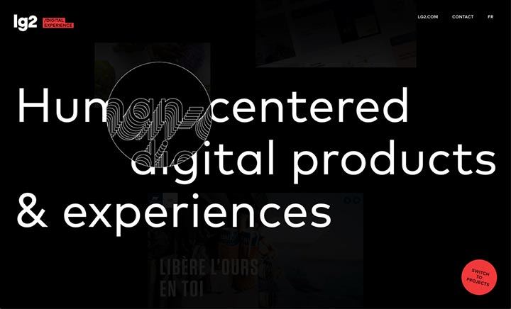 lg2 - Digital Experience website