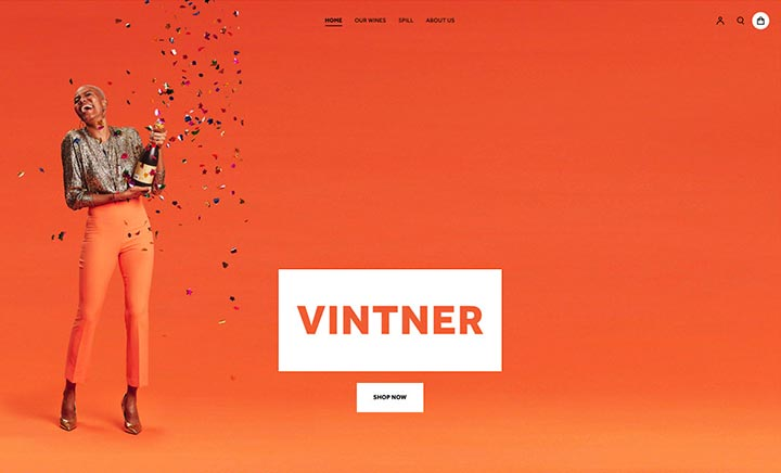 Vintner website