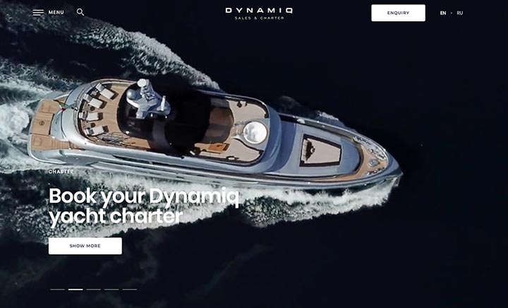 Dynamiq Brokerage website