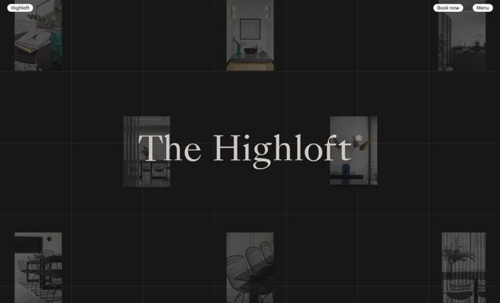 The Highloft website