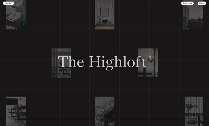 The Highloft website