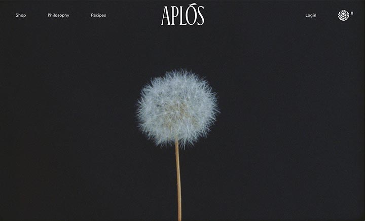 Aplós website