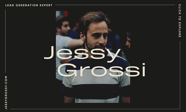 Jessy Grossi – Lead-Gen Expert website