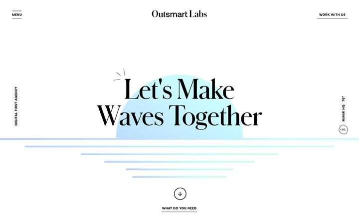Outsmart Labs website
