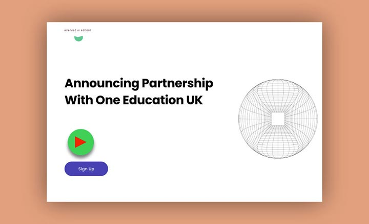 One Education UK Partnership website