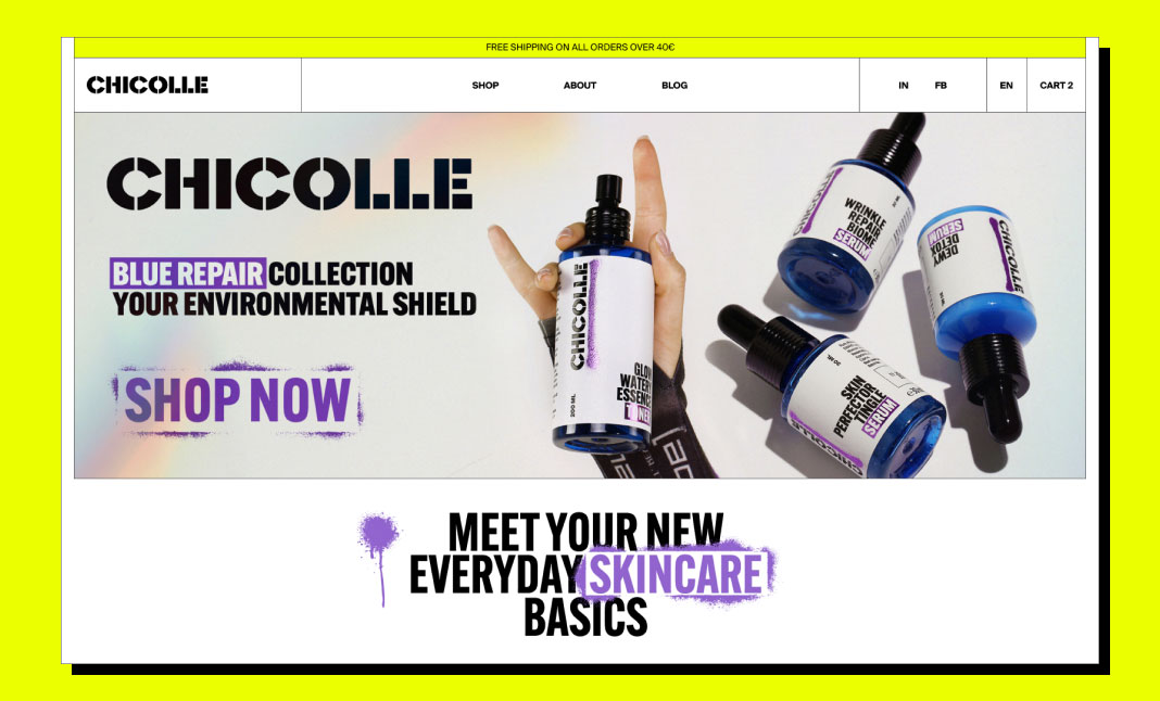 Chicolle Store  website