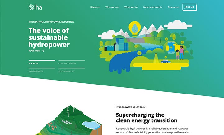 Hydropower Org website