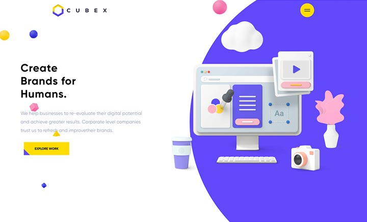 Cubex website