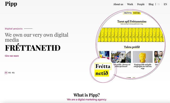Pipp website