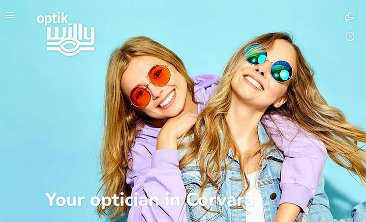 Optik Willy website