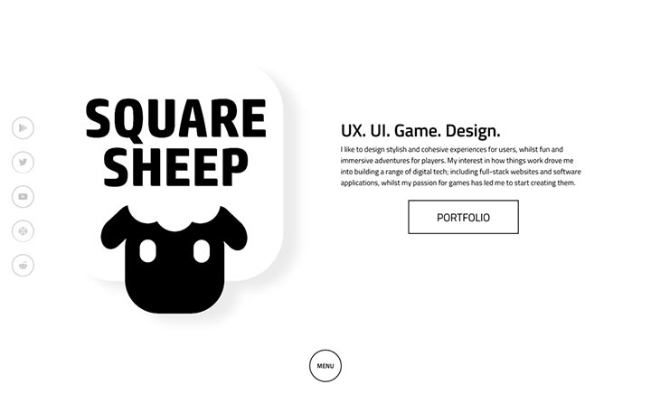SquareSheep Studios website