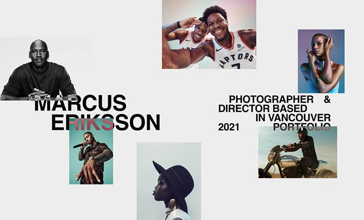 Marcus Eriksson  website