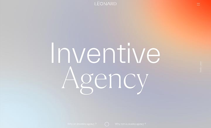 Léonard agency website