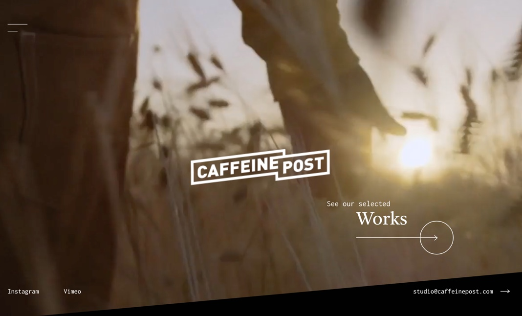 CAFFEINE POST website