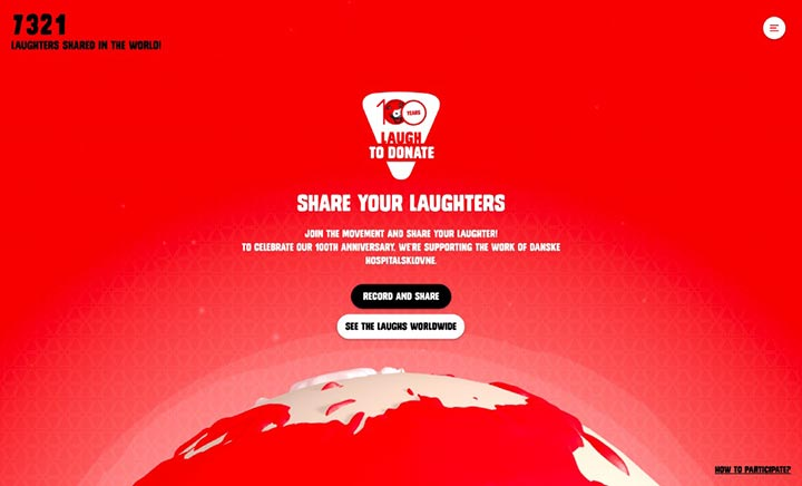 The Laughing Cow® 100 Years website