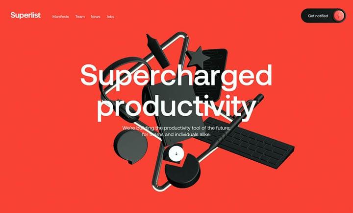 Superlist website