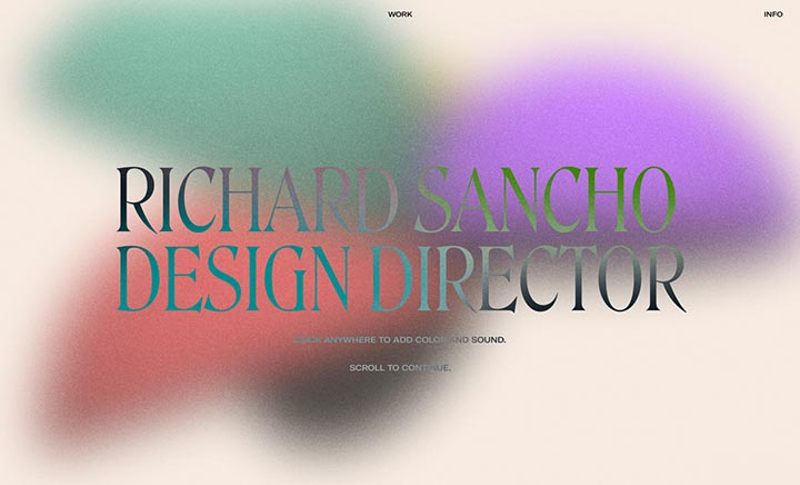 Richard Sancho: Portfolio 2021