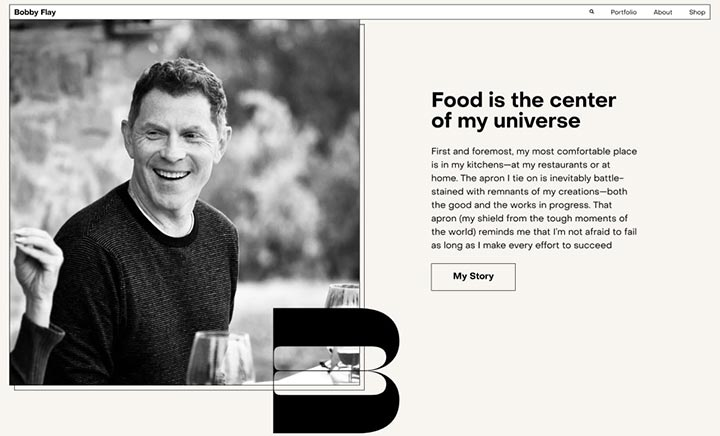Bobby Flay website