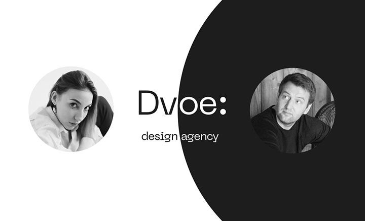 Dvoe.Design Agency website