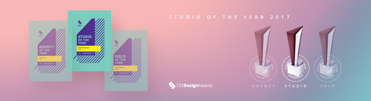CSSDA DOTY 2017 - Studio Winner