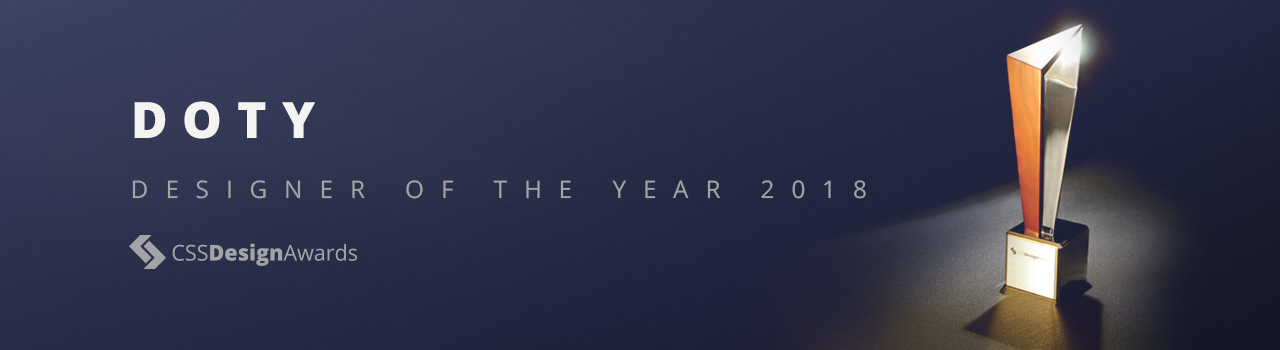 CSSDA DOTY 2018 - Designer of the Year