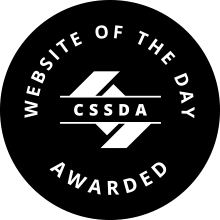 CSSDA WOTD Award Monogram black