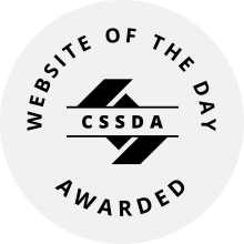 CSSDA WOTD Award Monogram white