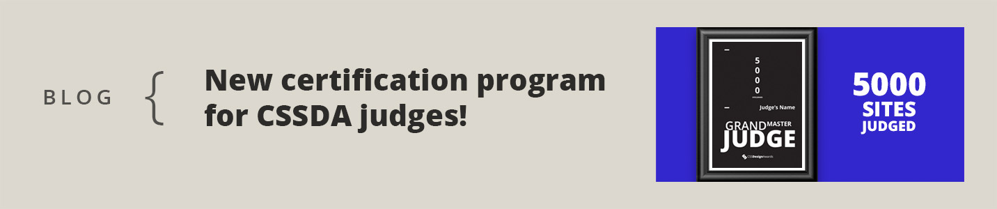 Judges Certification Program