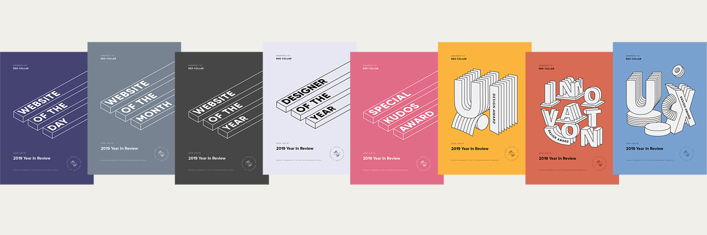 CSSDA New Award Certificates