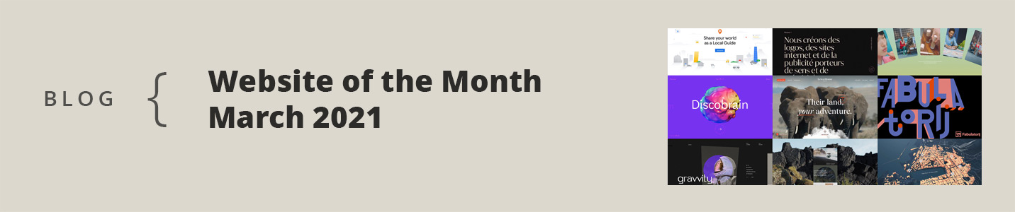 CSSDA Website of the Month 2021 March